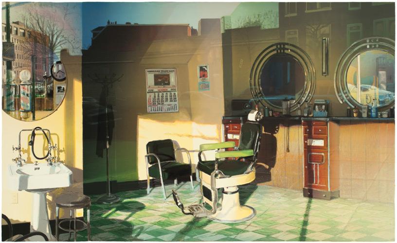 Barbershop Window   Nancy McIntyre Studio